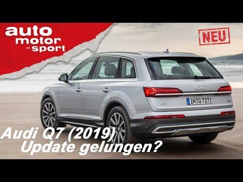 Audi Q7 (2019) – Update gelungen? | Review | auto motor und sport
