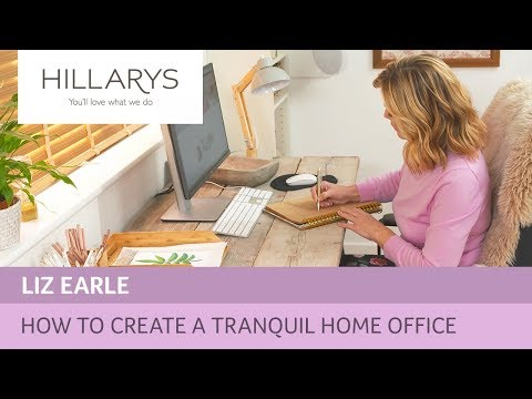 How to bring health and wellbeing to your home office with Liz Earle YouTube video thumbnail