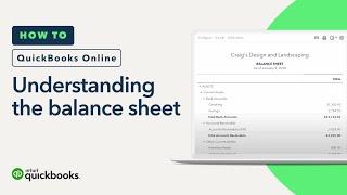 Understanding the Balance Sheet: Asset, Liability and Equity