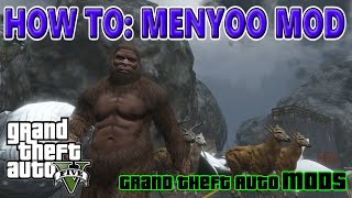GTA 5 How to MENYOO MOD for PC by theTIVANshow