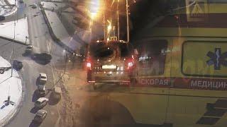 Первоапрельское ДТП на кольце Бизнесцентра в Сургуте