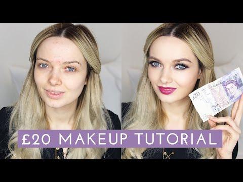 The £20 Drugstore Makeup Tutorial  // MyPaleSkin