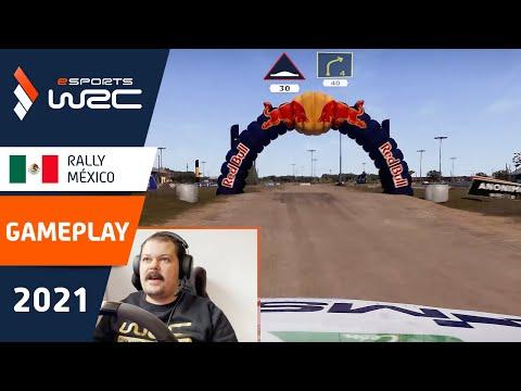 E-sports WRC2021 メキシコ SS1ラリー動画