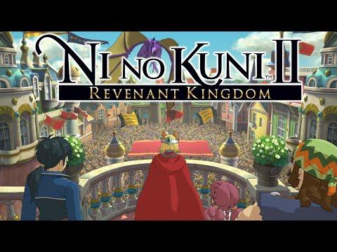 Ni No Kuni 2 Возрождение Короля. Прохождение на русском (Сбежавшая Боевая Машина) Часть 58