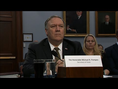 Top lawmakers are blasting the Trump administration's proposal to slash funding for the State Department and the US Agency for International Development. Secretary Mike Pompeo testified about the plan to cut his agency's budget by 23 percent. (March 27)