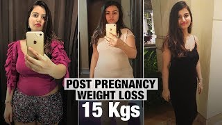 How I Lost 15 kgs At Home Post C-Section Delivery | Fat to Fit | Fit Tak