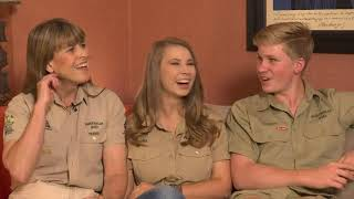 Crikey! Irwin family continue Steve's legacy with new show