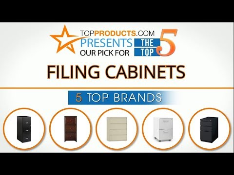 Best Filing Cabinet Reviews 2017 – How to Choose the Best Filing Cabinet