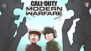Modern Warfare but toxic squeakers 1v1 and one of them cheats!?