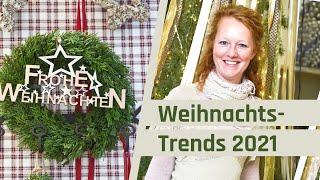 Weihnachtsdeko Trends 2021 | Deko Trends Weihnachten | Inspirationen für Adventsdeko