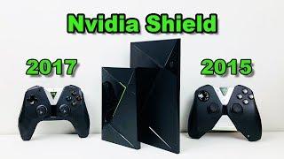 Nvidia Shield Tv 2015 Vs 2017 16gb Versions