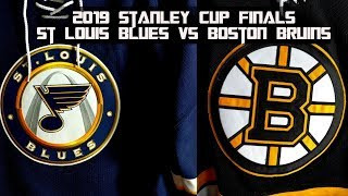 2019 Stanley Cup Finals Preview - St Louis Blues vs Boston Bruins