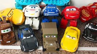 Тачки Трансформеры Молния Маквин - Cars 3 Lightning mcqueen Transformers