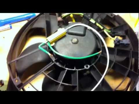 Radiator Fan Repair on 2000 Saab 9-3 SE | Car Fix DIY Videos
