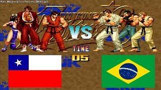 Kof 95 - Rata_Maligna (chile) VS Paczinho [BK95] (brazil) Fightcade