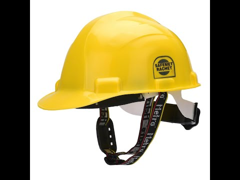 Metro Safety Helmet With Light Torch SH 1207