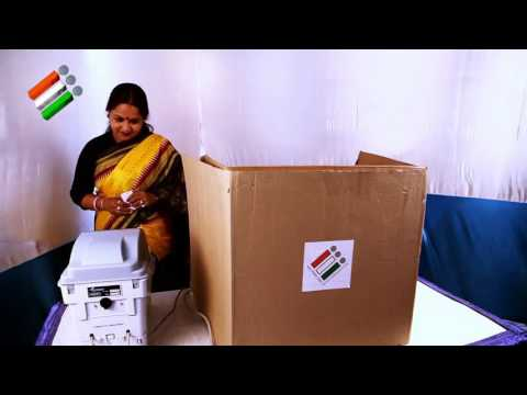 VVPAT Video – Electronic Voting Machine Tutorial