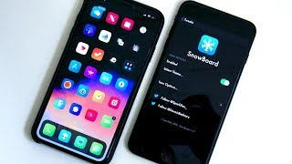 IOS 12 TWEAK Of The DAY - SnowBoard: THEME Your IPhone ICONS Plus HIDDEN FEATURES!