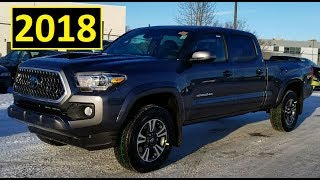 2018 Toyota Tacoma Double cab TRD Sport Upgrade or Premium Package detailed walk through