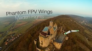 Phantom FPV Wings Maiden Flights 2014 - GoPro Hero 3