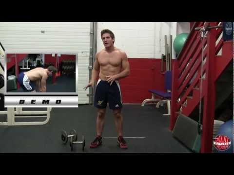 How To:  Dumbbell Bent-Over Row