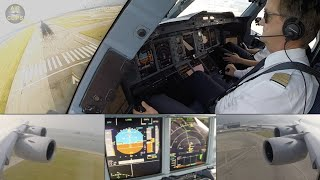 Giant of the Skies: Lufthansa A380 ULTIMATE COCKPIT MOVIE Munich - Hongkong!!! [AirClips]