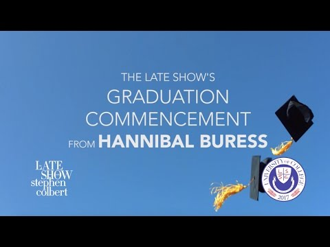 Dr. Hannibal Buress Delivers 2017 Commencement Address