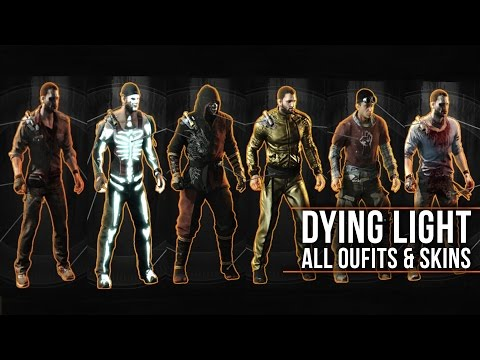 """Dying Light - ALL OUTFITS with LEGEND SKINS Showcase (Including Secrets & DLCs) """"How to Unlock"""""""