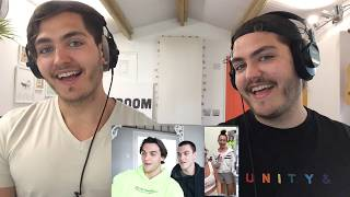 Twins REACT to the Dolan Twins - We Got EVERY Identical Twin On The Internet In One Zoom