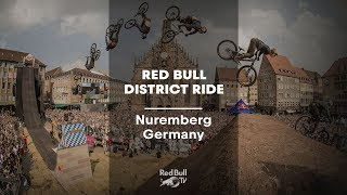 Urban freeride MTB at its best: Red Bull District Ride Live