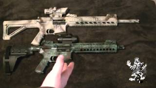 "AR-15 Barrel Length. 16"" VS 10"" 300 AAC BLK"