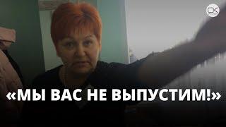 Выборы 2018. Председатель препятствовала избирателю вынести бюллетень с участка