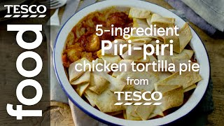 5-ingredient piri-piri chicken pot pie