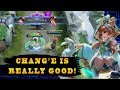 WTF I Didn 39 t Know Chang 39 e Was This Strong Mobile Legends