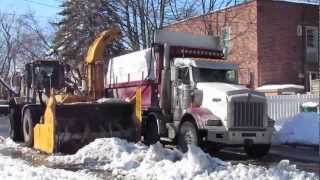 preview picture of video 'Déneigement Montreal  snow removal'