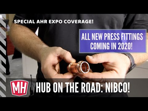 New Press Fittings from Nibco