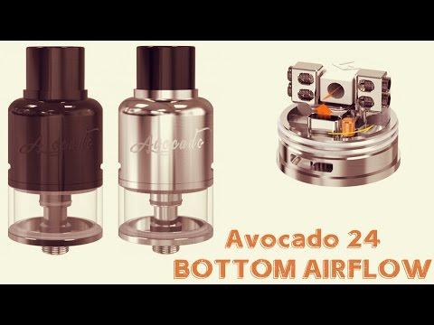 YouTube Video zu GeekVape Avocado 24 RDTA Selbstwickelverdampfer 4 ml