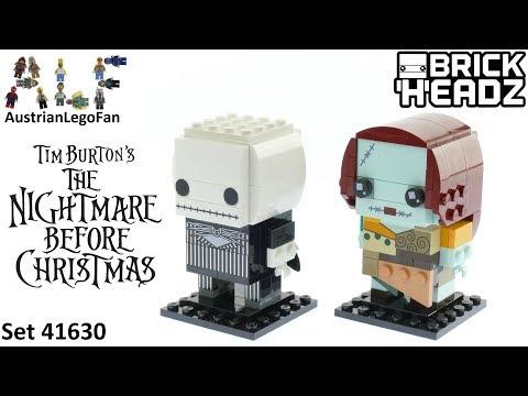 Vidéo LEGO BrickHeadz 41630 : Jack Skellington & Sally