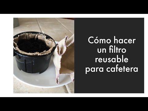 Filtro reusable para cafetera