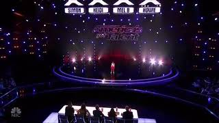 Angelica hale-woww the most deserved golden buzzer of all time
