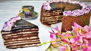 Красавец торт СПАРТАК с кремом ПАТИСЬЕР и МУСЛИН - восторг вам обеспечен