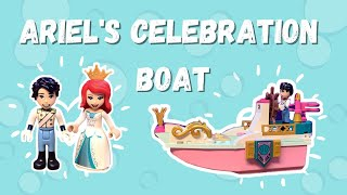 LEGO Disney Ariel's Celebration Boat Review and Speed Build – New in 2021! (43191)
