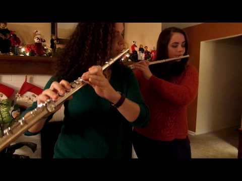 In this video I play a flute duet with one of my closest friends, and fellow takelessons teacher.
