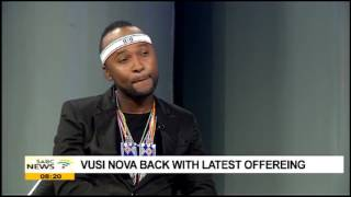 Vusi Nova releases his long awaited album titled 'Naninina'