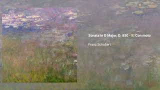 Piano Sonata no. 17 in D major 'Gasteiner', D. 850