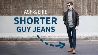 NEW Jeans for Shorter Guys | Introducing Ash & Erie Jeans