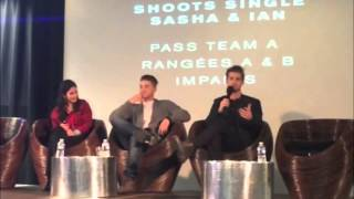 Саша Питерс, Pretty Little Liars 'Keep A Secret 2' Convention - Drew Van Acker Panel Clips