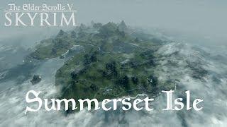 TES V: Skyrim (Summerset Isle) #109. Жёсткое приземление