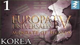 MANDATE OF HEAVEN [1] - Korea - Mandate of Heaven EU4 Paradox Interactive