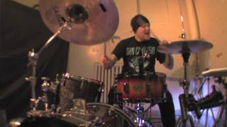 DANKO JONES+(DRUM COVER)+FIRST DATE=by: Rob KARVELLIUS Carvell